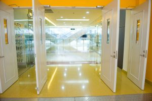 Acoustic Doors - Open