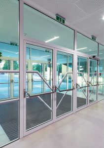 Aluminium Profile Fully Glazed Doors