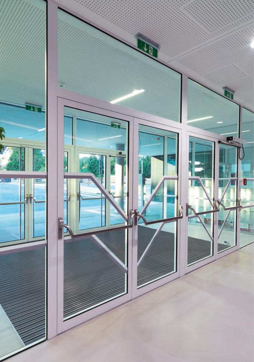 Aluminium Profile Fully Glazed Doors