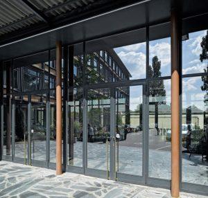Aluminium Profile Glazed Doors