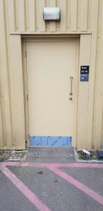 Steel Door - Warner Brothers Studios