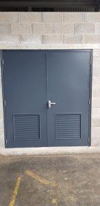 Steel Substation Doors - Double